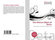 Capa do livro de That Obscure Object of Desire