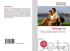 Обложка Bahlinger SC