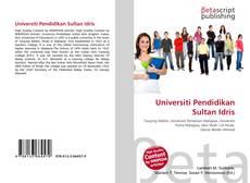 Bookcover of Universiti Pendidikan Sultan Idris