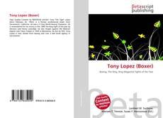 Capa do livro de Tony Lopez (Boxer)