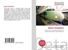 Portada del libro de Bahn (Verkehr)
