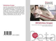 Buchcover von DB Bahnbau Gruppe