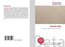 Portada del libro de Ramón Ros