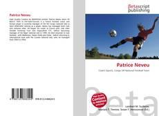 Patrice Neveu的封面