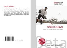 Capa do livro de Patrice Lefebvre