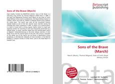 Bookcover of Sons of the Brave (March)