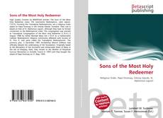 Bookcover of Sons of the Most Holy Redeemer