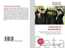 University of Hertfordshire的封面