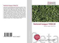 Bookcover of National League 1938-39