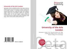 University of the Arts London的封面
