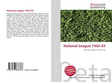 Bookcover of National League 1942-43