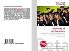 Couverture de University of Northampton