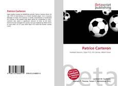Patrice Carteron的封面