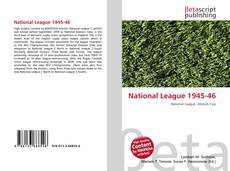 Bookcover of National League 1945-46