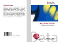 Bookcover of Alexander Alvaro