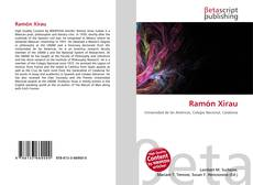 Capa do livro de Ramón Xirau
