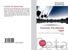 Bookcover of Temmink: The Ultimate Fight