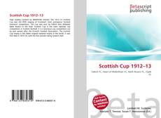 Bookcover of Scottish Cup 1912–13