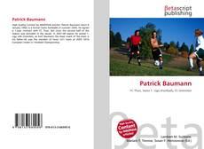Patrick Baumann的封面