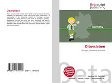 Обложка Olbersleben