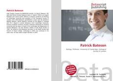 Capa do livro de Patrick Bateson