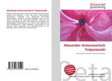 Buchcover von Alexander Antonowitsch Trojanowski