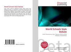 Portada del libro de World Schools Style Debate
