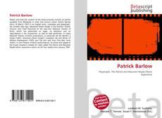 Bookcover of Patrick Barlow