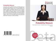 Bookcover of Probability Measure
