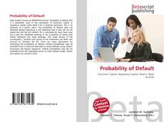 Bookcover of Probability of Default
