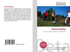 Portada del libro de Patrick Bailey