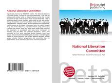 Bookcover of National Liberation Committee