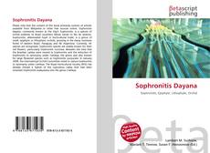 Portada del libro de Sophronitis Dayana