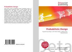 Bookcover of Probabilistic Design