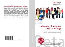 University of Arkansas Honors College的封面