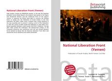Bookcover of National Liberation Front (Yemen)