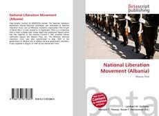 Portada del libro de National Liberation Movement (Albania)
