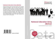 Portada del libro de National Liberation Army (Bolivia)
