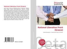 Portada del libro de National Liberation Front (Greece)