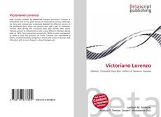 Bookcover of Victoriano Lorenzo