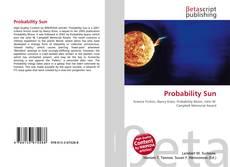 Couverture de Probability Sun
