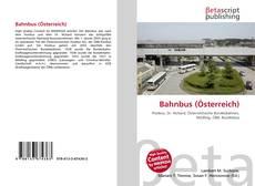 Portada del libro de Bahnbus (Österreich)