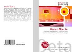 Bookcover of Warren Akin, Sr.