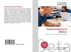 Couverture de National Library of Belarus