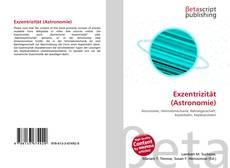 Обложка Exzentrizität (Astronomie)