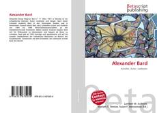 Bookcover of Alexander Bard
