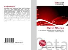 Warren Atherton kitap kapağı