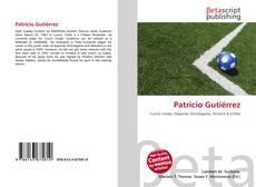 Bookcover of Patricio Gutiérrez