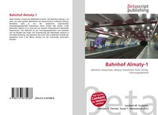 Bookcover of Bahnhof Almaty-1