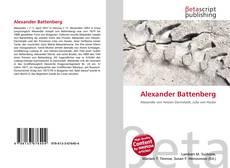 Bookcover of Alexander Battenberg